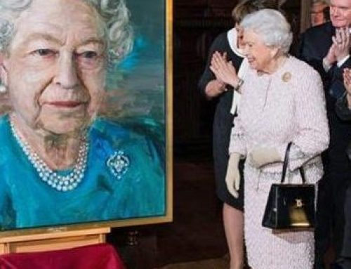 Portrait of the Queen, by Colin Davidson