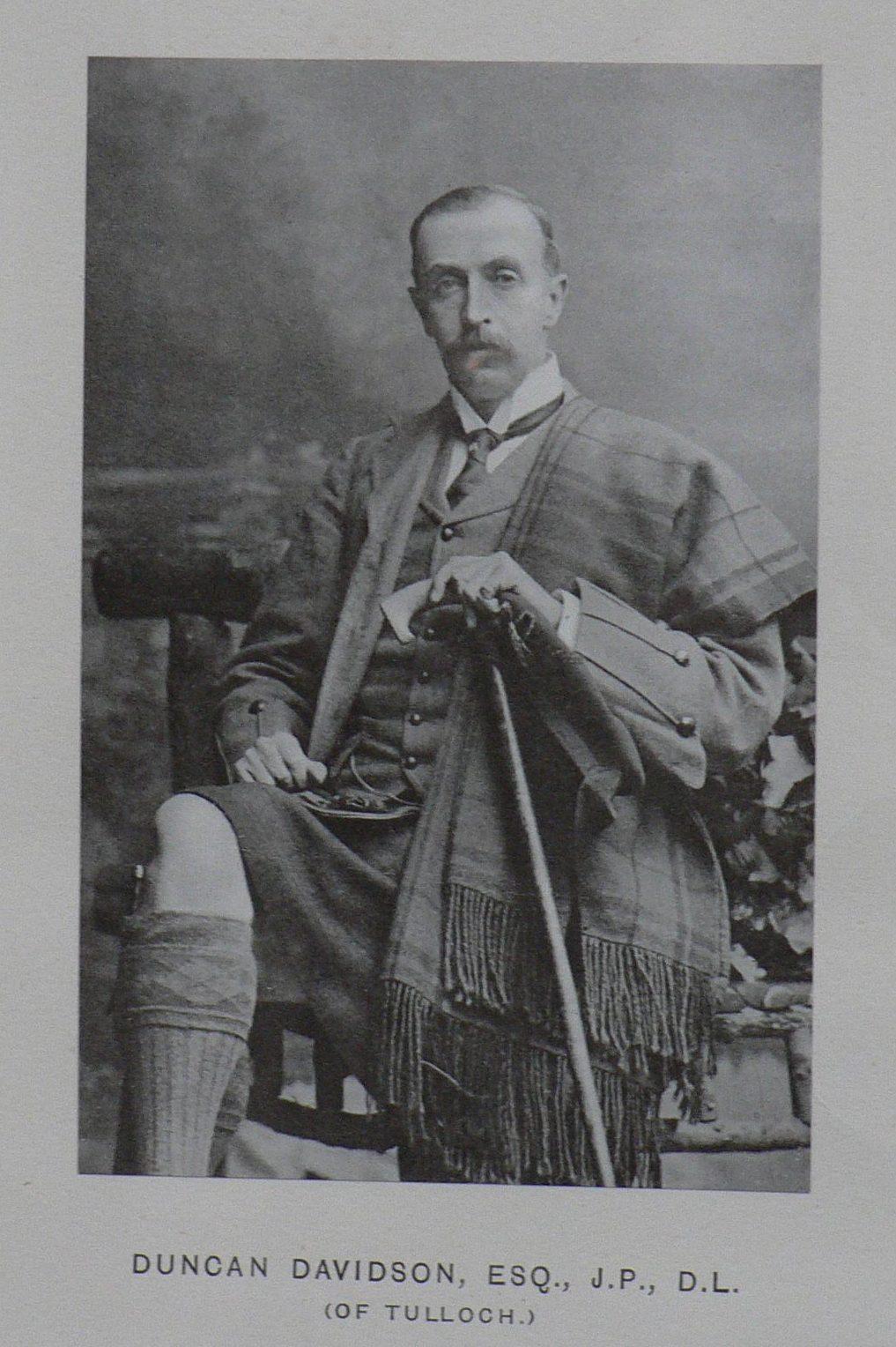 Duncan Davidson at Tulloch Castle